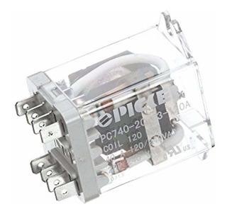 Duke 115330 Dpdt Relé, 40 Amp, 120 Vac Coil