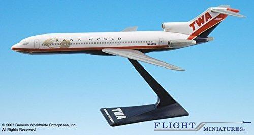 Lote Com 2 Miniaturas Em Escala 1/200 Do Boeing 727
