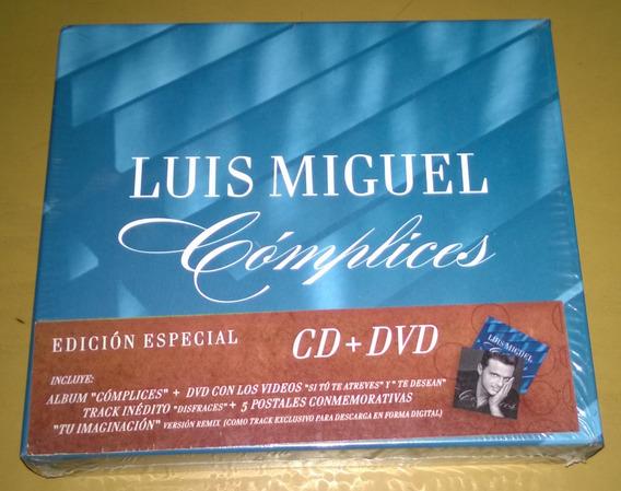 Luis Miguel Cd + Dvd Complices Edicion Especial + 5 Postales