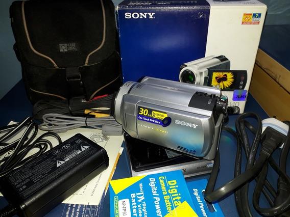 Filmadora Sony Dcr-sr40 Hdd 30gb