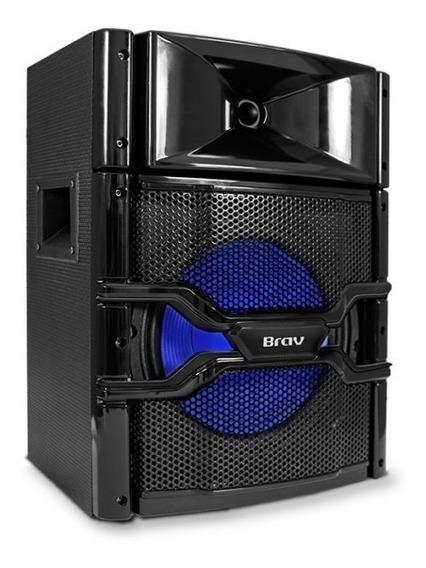Caixa De Som Amplificada Brav 6000