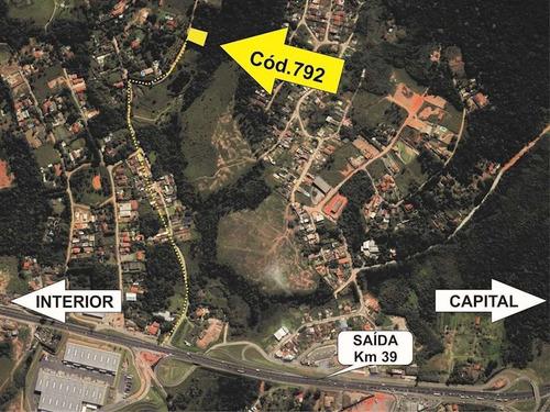 Lote De 2,500 M2, Proximo A Rodovia, Altura Km 39 Raposo Tavares - 1705