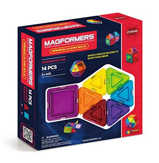 Magformers Sensor de 47 piezas conjunto de bloques juego