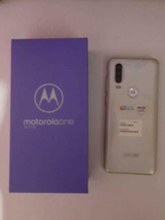 Celular Motorola One Action. 128 Gb De Almacenamiento