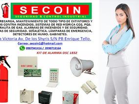 Extintores, Venta ,recarga A Domicilio Quito/sangolqui