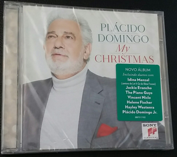 Cd Plácido Domingo - My Christmas
