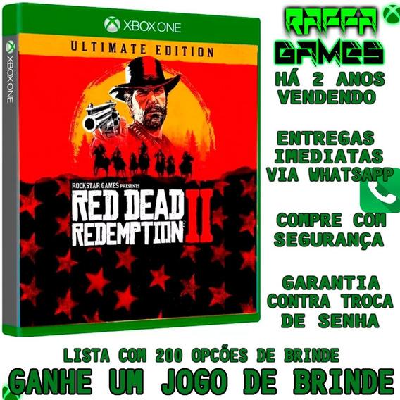 Red Dead Redemption 2 Ultimate Ed. Xbox One Offline + Brinde