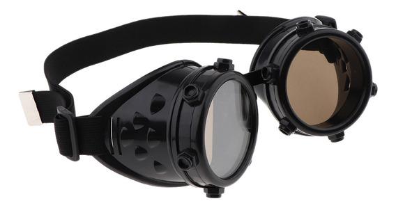 Steampunk Cibernético Goggles Óculos Vitoriano Cosplay God