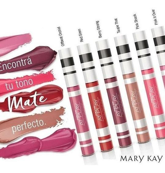 Nuevos Tonos Labiales Liquidos Mary Kay. Mate