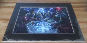 Starcraft - Arte Com Certificado Blizzard (20th Anniversary)