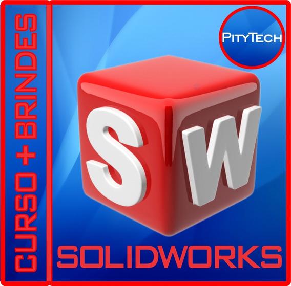 Soldwoks 2019 Sp3 - Curso + Brindes - Promoção