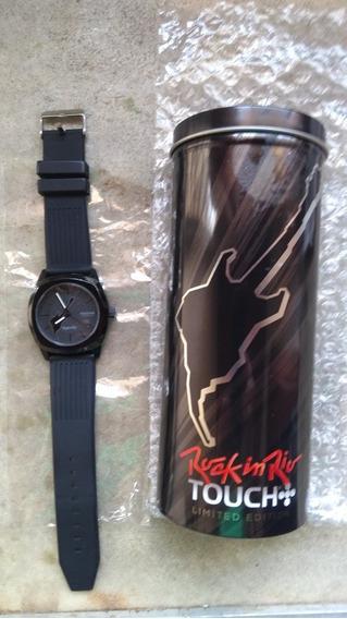 Relógio De Pulso Rock In Rio