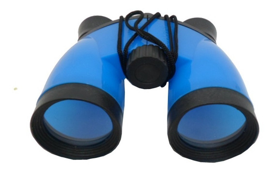 Binóculo Infantil Kit 30 Pçs Colorido /predio Azul