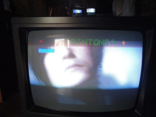 Tv Philips Tubo 14´´pol Colorida Bivolt Sem Audio E Video