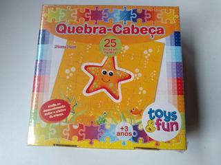 Quebra Cabeca Estrela - 25 Pecas Madeira Toys&fun