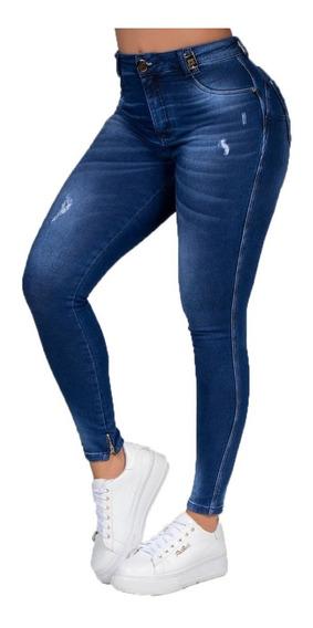 Calça Jeans Feminina Pit Bull De Luxo Original C Nota Fiscal