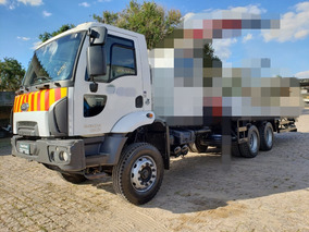 Ford Cargo 2629 6x4 Chassi Ano 2017 C/ 12.411 Km Muito Novo!