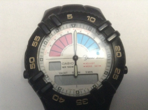 Relógio Vintage  Casio Aw-300  P/ Conserto. Original
