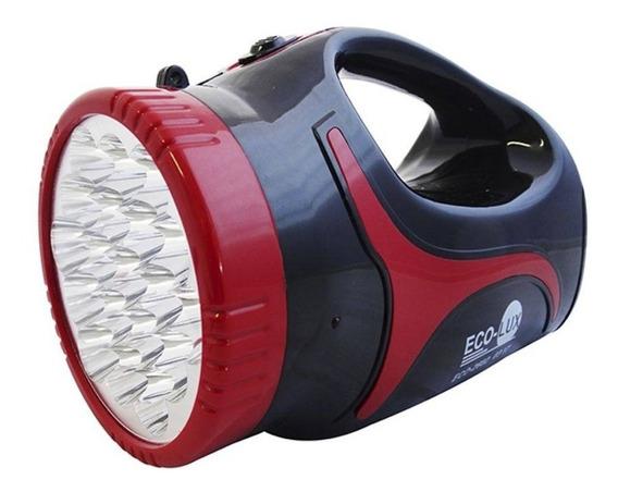 Lanterna Recarregável 19 Leds Bivolt Original Eco Lux