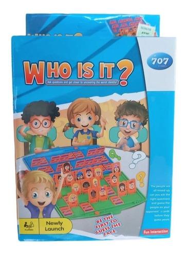 Adivina Quien Se El Primero En Descubrir Los Personajes
