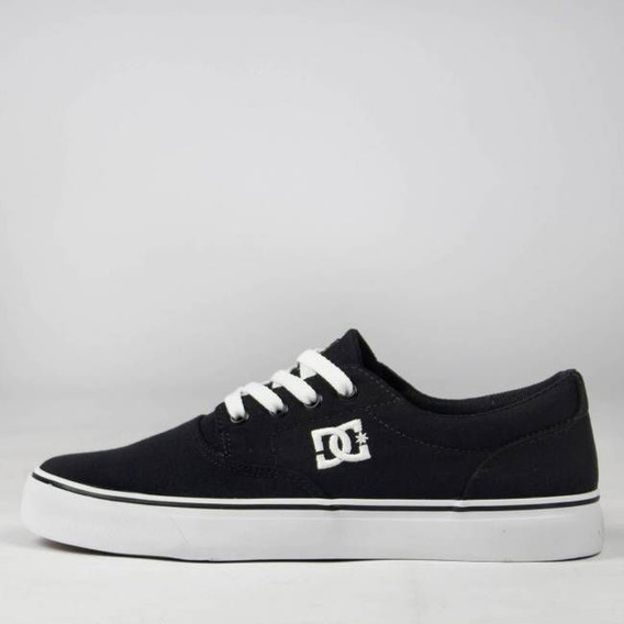 Tênis Dc Shoes New Flash 2 Tx Black/white Skate