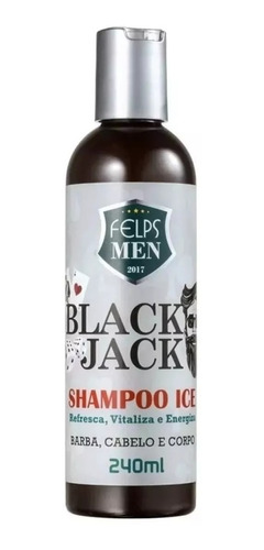 Felps Men Black Jack Shampoo Ice 240ml