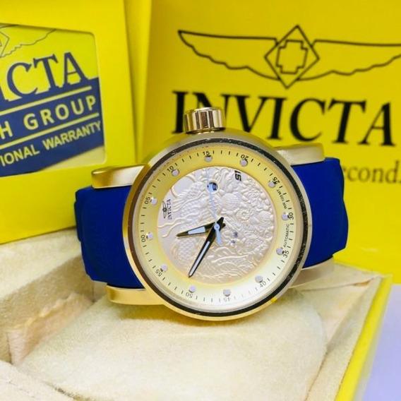 Relógio Invicta Yakusa S1 Azul / Branco