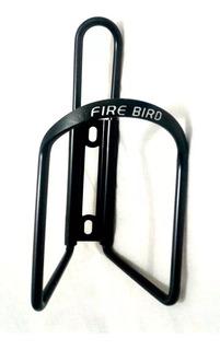 Porta Caramañola P/ Bicicleta Fire Bird Aluminio Negro