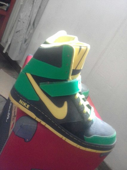 Zapatillas Nike Super High Top Talle 12us Sim Dunk Air Force