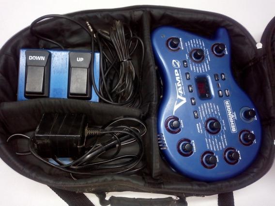 Pedaleira V-amp 2 (usada)