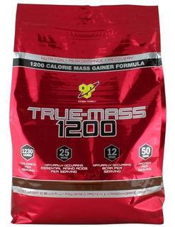 Gainer True Mass 10 Lbs 4.5 Kg Bsn Importado Con Proteina