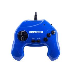 Master System 40 Jogos Plug & Play - Azul.