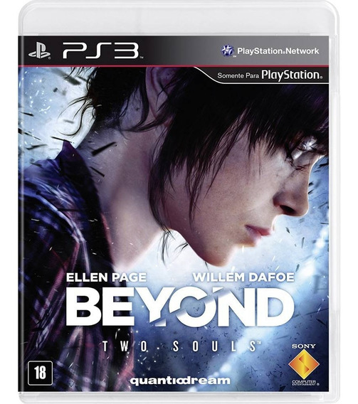 Beyond Two Souls Ps3 Playstation 3 Original Mídia Física Envio 12,00
