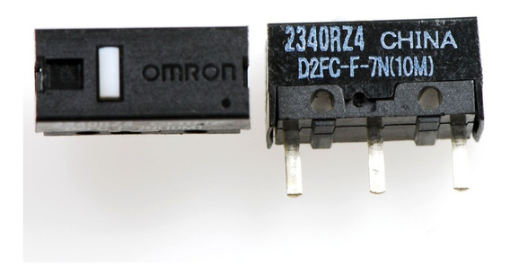 Micro-switch D2fc-f-7n(10m) Omron Para Todos Mouses Kit 2pcs