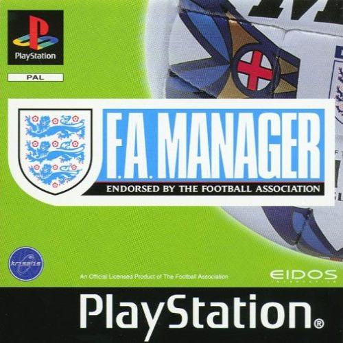 F.a. Manager (cd) Jogo Ps1