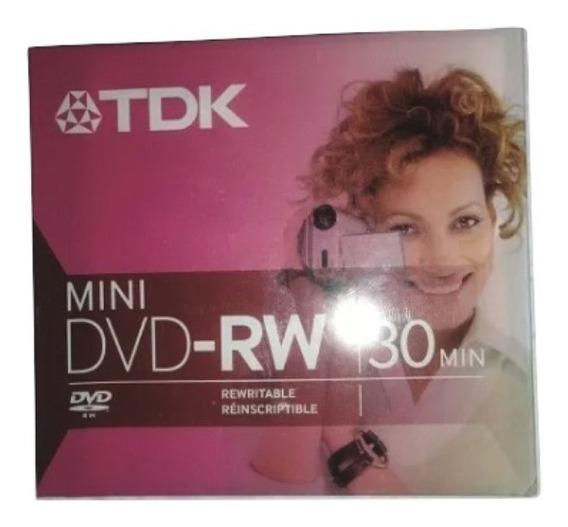 Tdk Mini Dvd-rw 30min 1.4gb