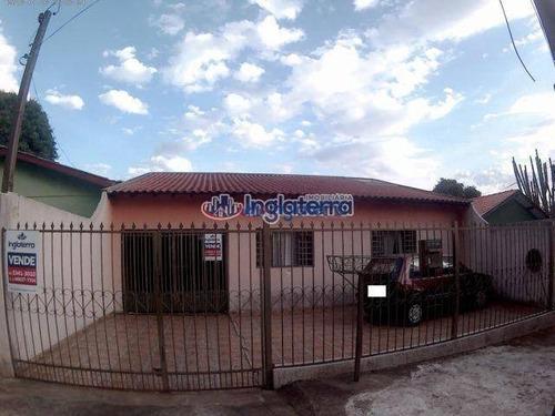 Casa À Venda, 127 M² Por R$ 400.000,00 - Conjunto Habitacional Violim - Londrina/pr - Ca0804