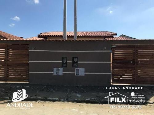 Ótima Casa Lado Serra Em Itanhaém - 6749
