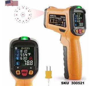 Termometro Industrial 800° Infrarojo Digital Laser Dual