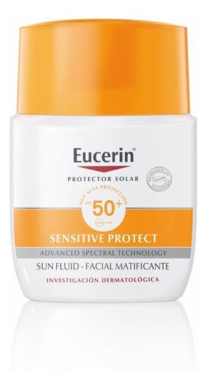 Eucerin Protector Sun Fluido Facial Matificante Fps 50+