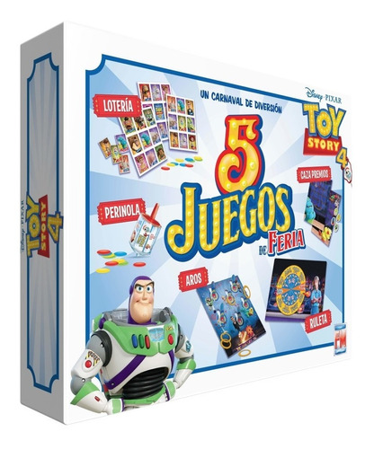 Imagen 1 de 6 de Juego De Mesa Fotorama 5 En 1 Toy Story