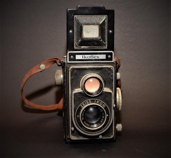 Câmera Fotográfico Ikoflex Zeiss Ikon Filme 120