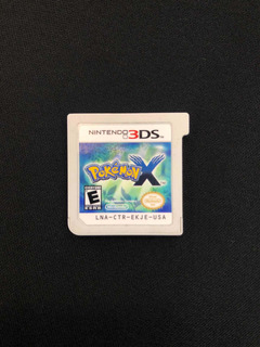 Pokemon X Original Solo Cartucho 3ds