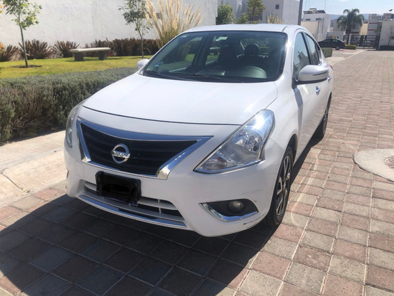 Nissan Versa 2015 1.6 Exclusive L4 At, Blanco, Único Dueño