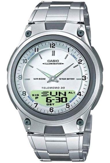 Relógio Casio Masculino Aw-80d-7avdf Novo 12 Meses Garantia