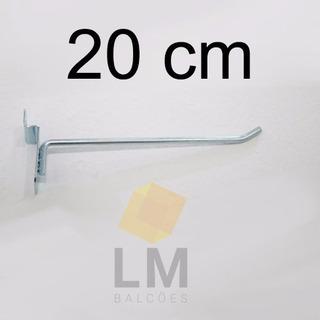 Ganchos Para Painel Canaletado 100unid - 5,10,15 Ou 20 Cm