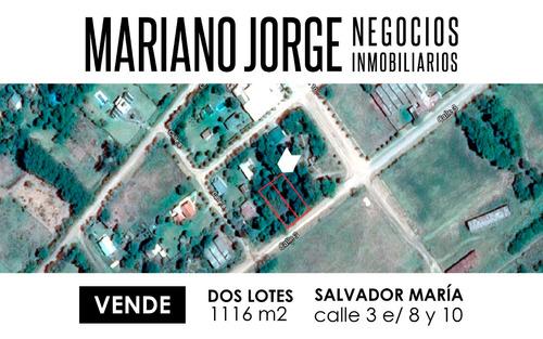 Imagen 1 de 2 de Lote En Calle 3 - Salvador Maria