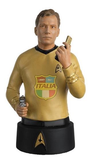 Star Trek Busts Capitão Kirk Eaglemoss
