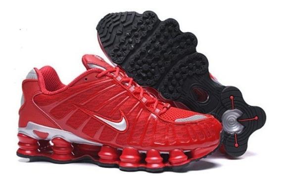 Tênis Nike Shox 12 Molas Tl Masculino - Vermelho Na Caixa