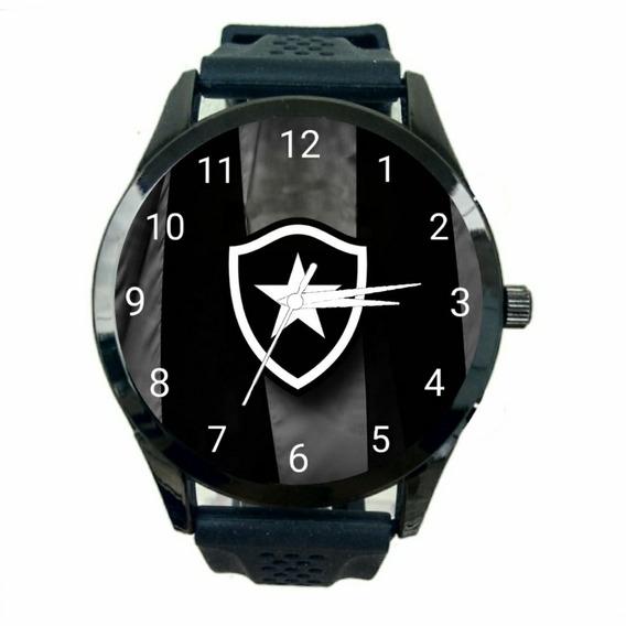 Relógio Botafogo Masculino Time Futebol Esporte Jogo Fc T1038
